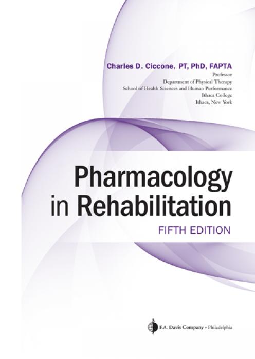 Pharmacology in Rehabilitation