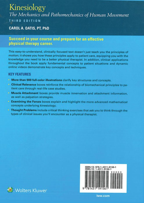 (Kinesiology (The Mchanics & Pathomechanics of HumanMovement