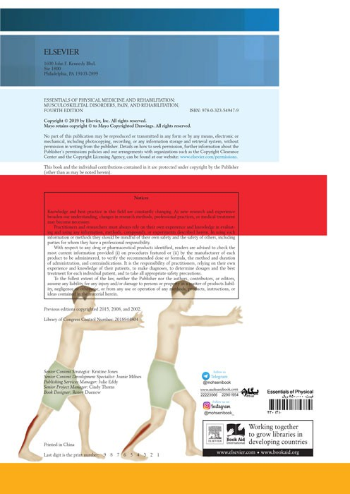 Essentials of Physical Medicine and Rehabilitation Musculoskeletal Disorders, Pain, and Rehabilitation