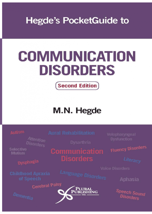 Hegde's PocketGuide to Communication Disorders