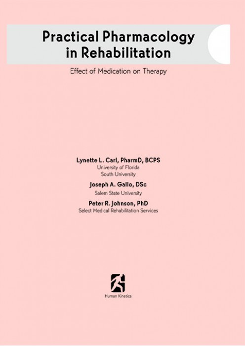 Practical Pharmacology in Rehabilition